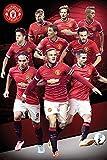 Manchester United Fußball Collage 14/15 - Sport Fußball