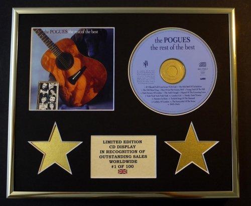 The Pogues, Pantalla de CD/edición Limitada/carbón/el Resto de los Mejores