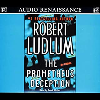 The Prometheus Deception audiobook cover art