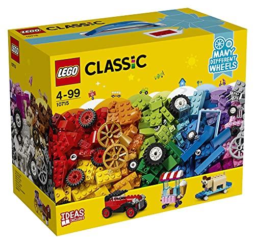 LEGO 10715 Classic LaboîtedeBriquesetdeRoues colorées,