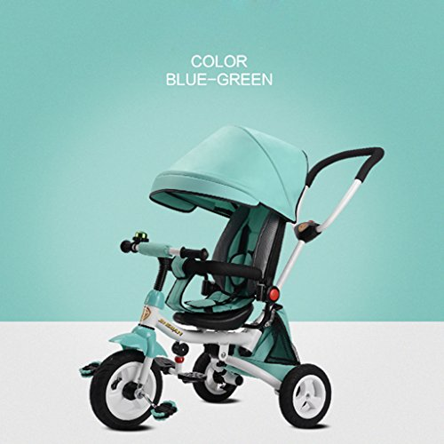 Learn More About SwinX Children's Tricycle Baby Bicycle 1-3-5 Year Old Child Toy Cart, Lightweight F...