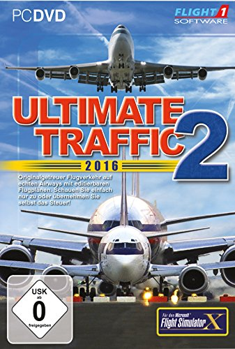 Flight Simulator X - Ultimate Traffic 2-2016 (Add-On)