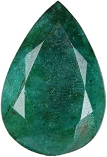 Piedra preciosa esmeralda verde de calidad superior 23.00 Ct piedra preciosa esmeralda verde certificada Egl facetada tall...