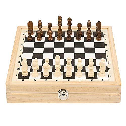 SM SunniMix Juego Plegable de Puck de Cabestrillo rápido, ajedrez Internacional, Juguete de Juegos de , Juguetes de Mesa para niños y Adultos, tamaño Grande,