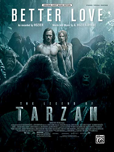 Better Love from the Legend of Tarzan: Piano/vocal/guitar, Sheet