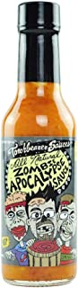 Zombie Apocalypse Ghost Chili Hot Sauce, 5 ounces - All Natural, Vegan, Extract Free, Made in USA, Featured on Hot Ones!