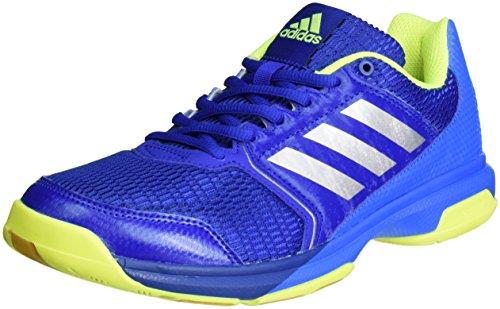 adidas Multido Essence - Handballschuhe - Herren, Blau, Blau (Collegiate Royal/Silver Metallic/Shock Blue), 46 2/3 EU