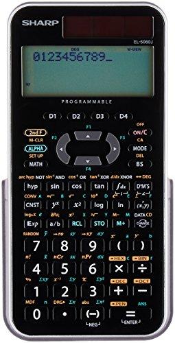 シャープ 関数電卓 416関数機能 式通り入力表示 スライド式ハードケースタイプ EL-5060JX