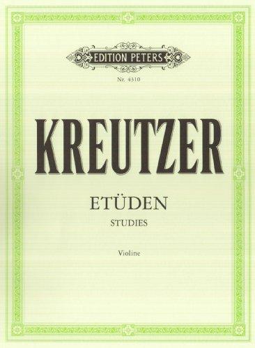 42 Etüden (Capricen): für Violine Solo