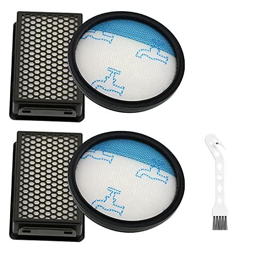 Paquete de 2 Filtros HEPA para Rowenta RO3715 RO3759 RO3798 RO3799 Kit de piezas de aspiradora accesorios de potencia compactos