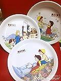 アルプスの少女ハイジ 皿セット 3枚 ファミリーマート コラボ