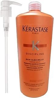 Discipline Bain Oleo Relax Shampoo 34 Oz with pump