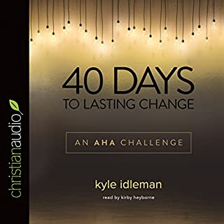 40 Days to Lasting Change cover art