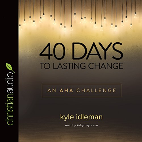 40 Days to Lasting Change audiobook cover art