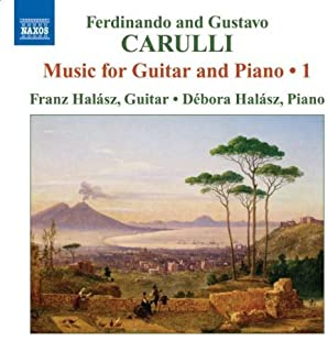 F. Carulli & G. Carulli: Music for Guitar & Piano, Vol. 1 by Ferdinando Carulli (2009-03-31)