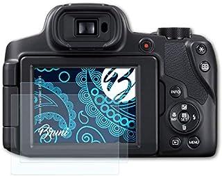 Bruni Schutzfolie kompatibel mit Canon PowerShot SX70 HS Folie, glasklare Displayschutzfolie (2X)