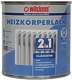2-in-1 Heizkörperlack weiss inkl. Pinsel von E-Com24 zum Auftragen (2 in 1 375 ml)