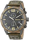 Timberland Reloj Analógico para Hombre de Cuarzo con Correa en Cuero TBL15256JSU.61