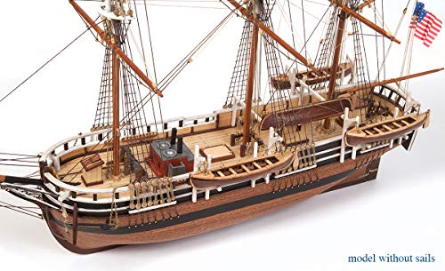 Occre Barco Essex para Montar - BÁSICO, SIN Velas
