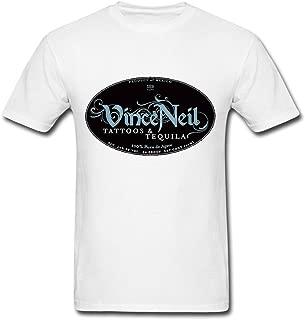 WBG DIY Mens Vince Neil Tour T-Shirt White