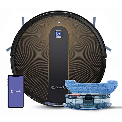 Coredy R750 Robot Vacuum Cleaner, Compatible with Alexa, Mopping System, Boost Intellect, Virtual...