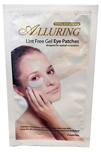 50 Pairs- Eyelash Extension Lint Free Under Eye Gel Pad Patches by eyebeautiful