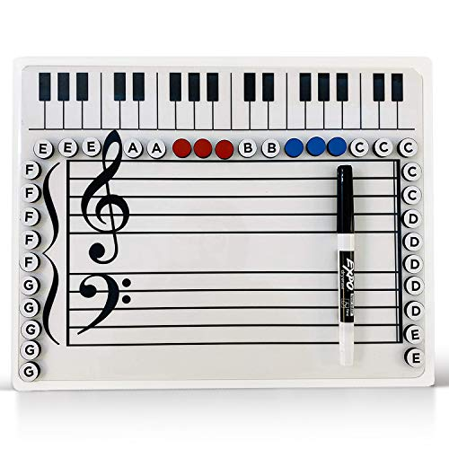 Music Magnetic Dry Erase Board