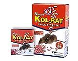 Praknu IMPEX Europa KOL, Veneno con bromadiolona contra Ratones, Mouse Traps That Contain Bait,Ratas y roedores, Desconocido