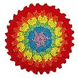 10 unids Colorido algodón Crochet placamat colchas Resistente Taza Colorido algodón Crochet al Calor alfombras Taza Posavasos Redonda vajilla Almohadilla