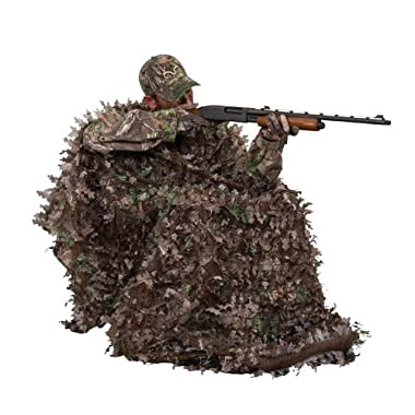 Ameristep Gunner Hunter 3-D Chair and 3-D Cover System, Realtree Xtra Green