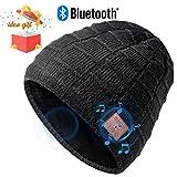 Bluetooth Mütze Beanie, Männer Geschenke, Dual-Layer Strickmütze, Bluetooth Hut, Musik Mütze mit...