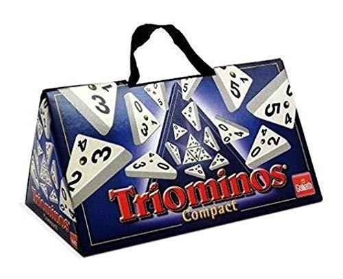 Goliath Toys 60645 - Triominos Compact - das spannende Anlegespiel - ab 6 Jahren