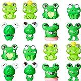 Cute Frog Miniature Figurines Mini Garden...