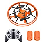 Drones for Kids,RC Flying Toys for Kids,Drone for Beginners with Bright Lights,Quadcopter with Altitude Hold,360° Rotating,2 Batteries,Easy Flying for Kids,Toys for Boys and Girls,Gift for Children