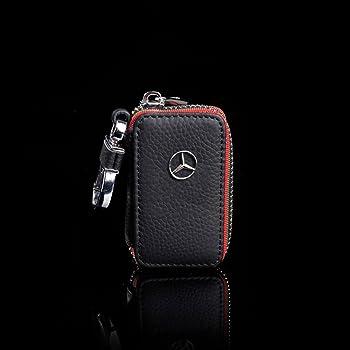 Guscio coprichiave Protettivo in Pelle PU per Chiavi Macchina Custodia Protezione per Chiave Mercedes Benz con 2-3 Tasti kwmobile Cover in Similpelle per Chiave Mercedes Benz