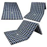 Winifred 2 Inch Dual Comfort Reversible Foldable Epe Foam Single 3Fold Bed Mattress (Medium, 72 X 35 X 2 Inch)