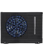 Raguso Ventilador de acondicionador de automóvil de 12V Ventilador de acondicionador de Aire evaporativo Duradero portátil ABS para camión de automóvil en 7.9 x 4.3 x 5.9 Pulgadas