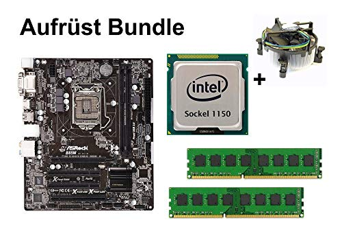 Aufrüst Bundle - ASRock B85M + Pentium G3258 + 4GB RAM #131000