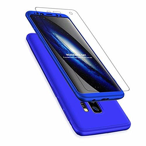 MISSDU vervanging voor Case Samsung Galaxy S8 Case met gehard glas MISSDU rosé goud