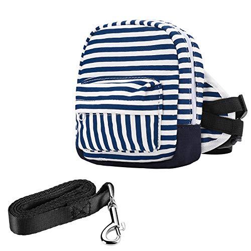 MOYUN Dog Backpack Harness - Dog Hiking Backpack - Puppy Small Dog Saddle Bag Back Pack Dog Vest with Pockets