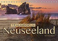 Trauminseln Neuseeland (Tischkalender 2022 DIN A5 quer): Eine traumhafte Bilderreise nach Neuseeland (Monatskalender, 14 Seiten )