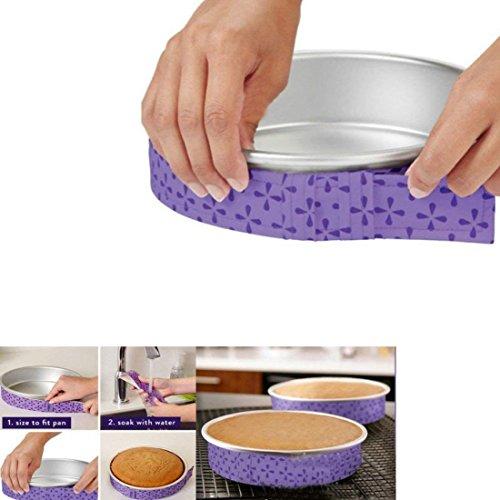 Bake-Even Streifen für Tortenformen, für gleichmäßiges Backen, Set