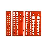 BIlinli 3pcs / Set Manga Multifuncional Enchufe Organizador Bandeja Soporte de Almacenamiento en Rack Métrico