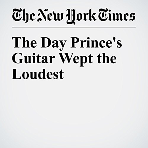 The Day Prince's Guitar Wept the Loudest cover art