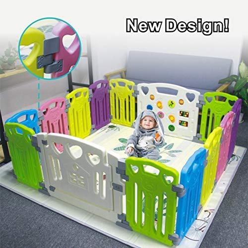 Parc à bébé enfants Centre d'activités de sécurité Play Yard l'intérieur ou l'extérieur avec...