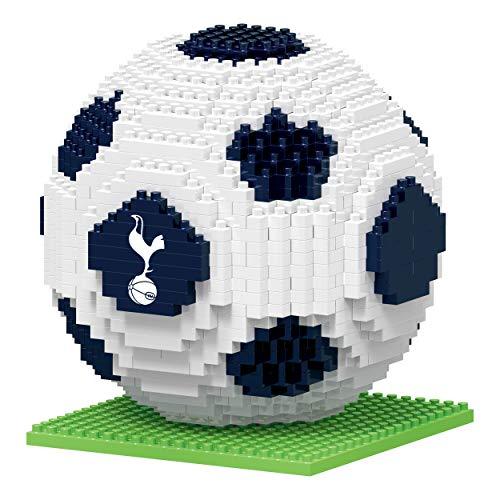 FOCO UK BRXLZ Tottenham Hotspur FC Football Premier League Championship Logo Team Building Set 3D Construction Toy