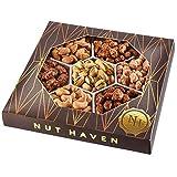 Holiday Gift Basket | Fresh Sweet & Salty Dry Roasted Gourmet Nuts Gift Basket | Fantastic Food Gift Basket...