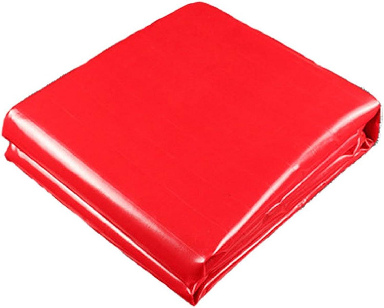 AJZXHE Rote Plane Wasserdichte Wasserdichte Wasserdichte Sonnenschutz LKW-Plane Abriebfeste Anti-Korrosions-und Anti-Aging -Plane B07JD9W31J  Elegante und stabile Verpackung d66aae