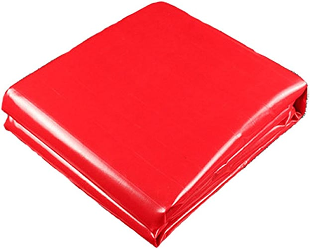 AJZXHE Bache imperméable à l'eau de bache de Prougeection Solaire de bache Rouge Anti-corrosif et Anti-vieillissement -Tente