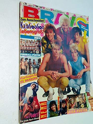 BRAVO Nr. 26/1983 mit Poster: Nena, Geiersturzflug, David Bowie, HSV, u. a. KajaGooGooStarschnitt. 23.6.1983 Jugendzeitschrift